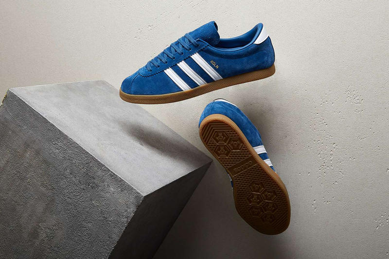 adidas Originals Koln Core Blue 2017 November 11 Release Date Info Sneakers Shoes Footwear END Clothing Drop Info Cologne Germany