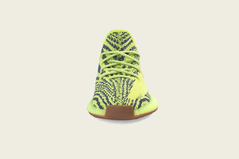 37c336ff418cf adidas Originals YEEZY BOOST 350 V2 Semi Frozen Yellow