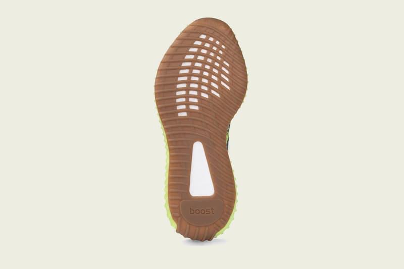 wholesale dealer e4b4e 6d8df adidas Originals YEEZY BOOST 350 V2 Semi Frozen Yellow