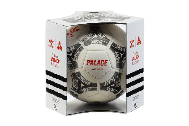 adidas Originals Palace Skateboards Football Soccer Ball