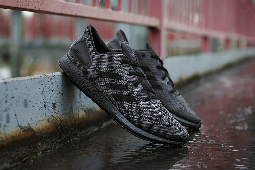adidas PureBOOST DPR Triple Black 2017 December 1 Release Date Info Sneakers Shoes Footwear
