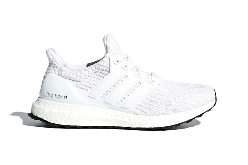 half off cd9ac 48db9 adidas Ultra BOOST 4.0 Core White