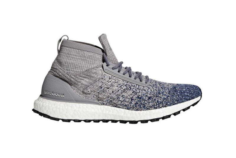 adidas UltraBOOST Mid ATR Glitch Heather Grey Noble Indigo All Terrain 2017 November 30 Release Date Info Sneakers Shoes Footwear