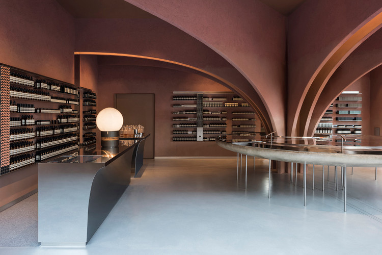 4fa7a1447acf Take a Look Inside Aesop s Futuristic New London Flagship
