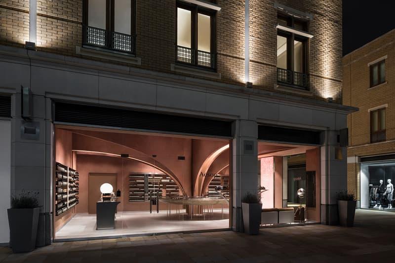 Aesop Snohetta London Chelsea Duke of York Square Flagship James Bond Interior Design