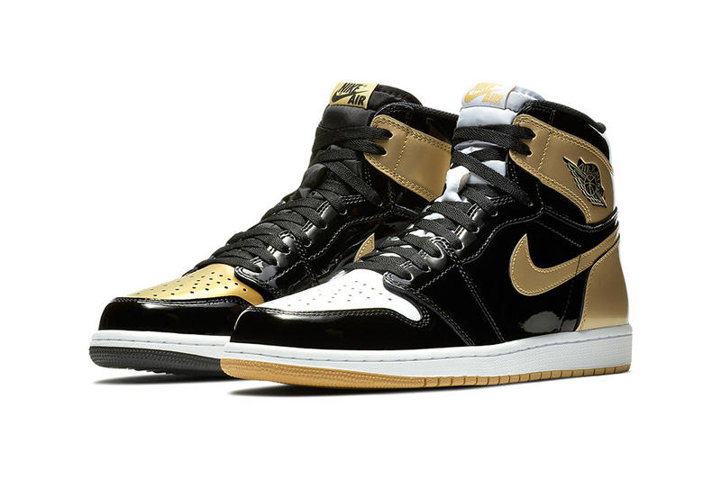 Air Jordan 1 Top 3 Cyber Monday Release Black Gold Jordan Brand