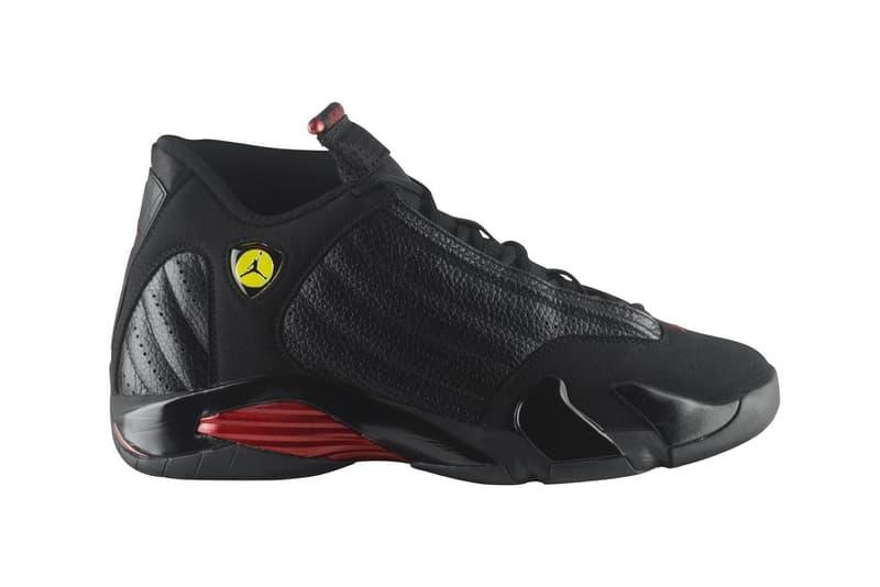 Nike Air Jordan 14 Last Shot Release Date June 16 2018 NBA Finals Michael Jordan Jordan Brand Footwear Drops Info