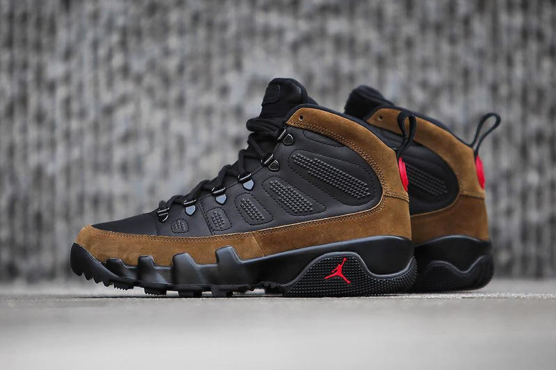 e94905e8888 ... new Air Jordan 9 Boot NRG Jordan Brand Olive December 6 2017 Release  Date ...