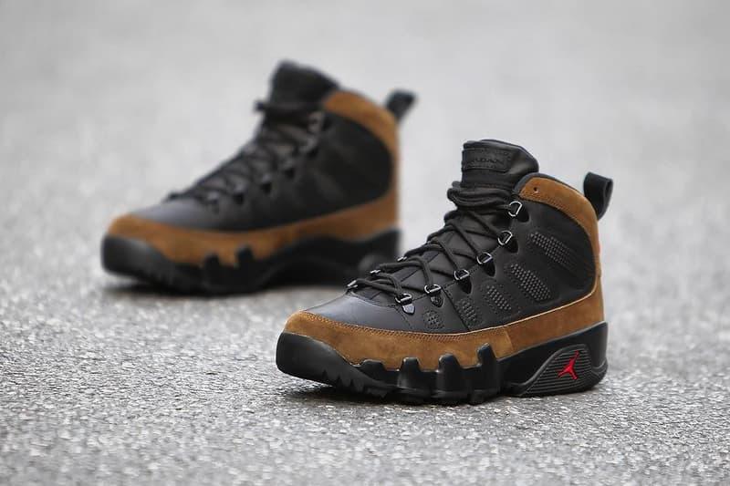 Air Jordan 9 Boot NRG Jordan Brand Olive December 6 2017 Release Date