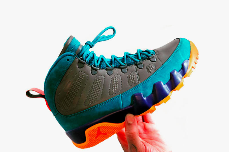 69d358f6080 ... how to buy Air Jordan 9 NRG Boot Multicolor Jordan Brand Nike First  Look Frank Cooker ...