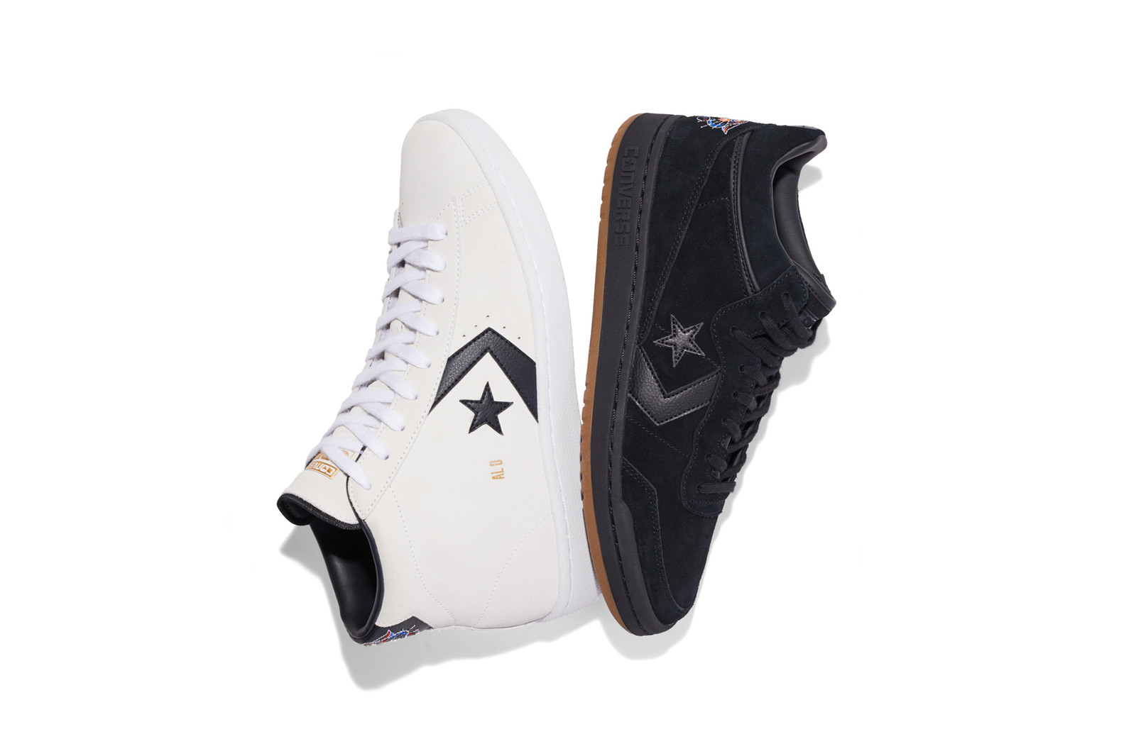 Pro Skater Al Davis Court Pack Collection Pro Leather Fastbreak Mid sneakers converse cons skateboarding