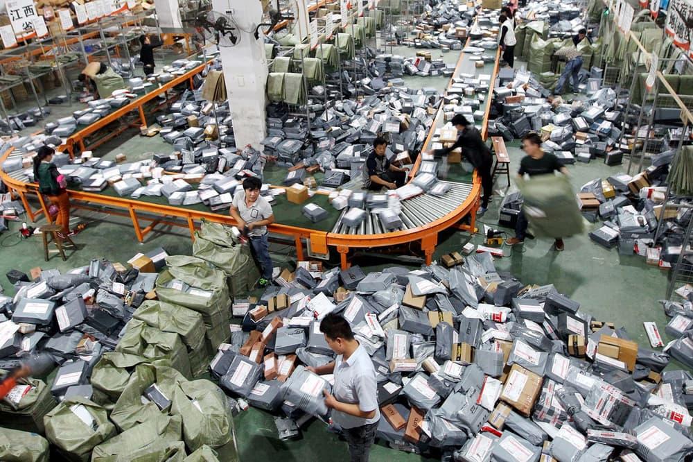 Alibaba Singles Day E-Commerce Shopping Technology Jack Ma