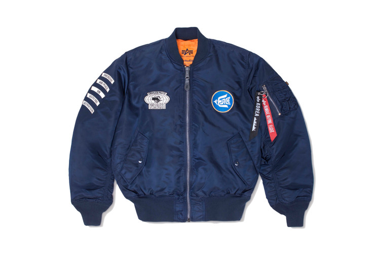 85dfa51be Alpha Industries   Paradise Youth Club Reimagine the Iconic MA-1 Flight  Jacket