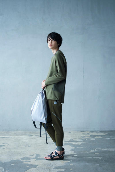 and wander 2018 Spring Summer Collection Lookbook SS18 Japan Technical Techwear Outdoors Nature Floral Mountain Triop Mihoko Mori Keita Ikeuchi