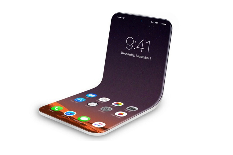 100% authentic 434cc 6fd8d New Apple Patent Reveals Folding iPhone Display