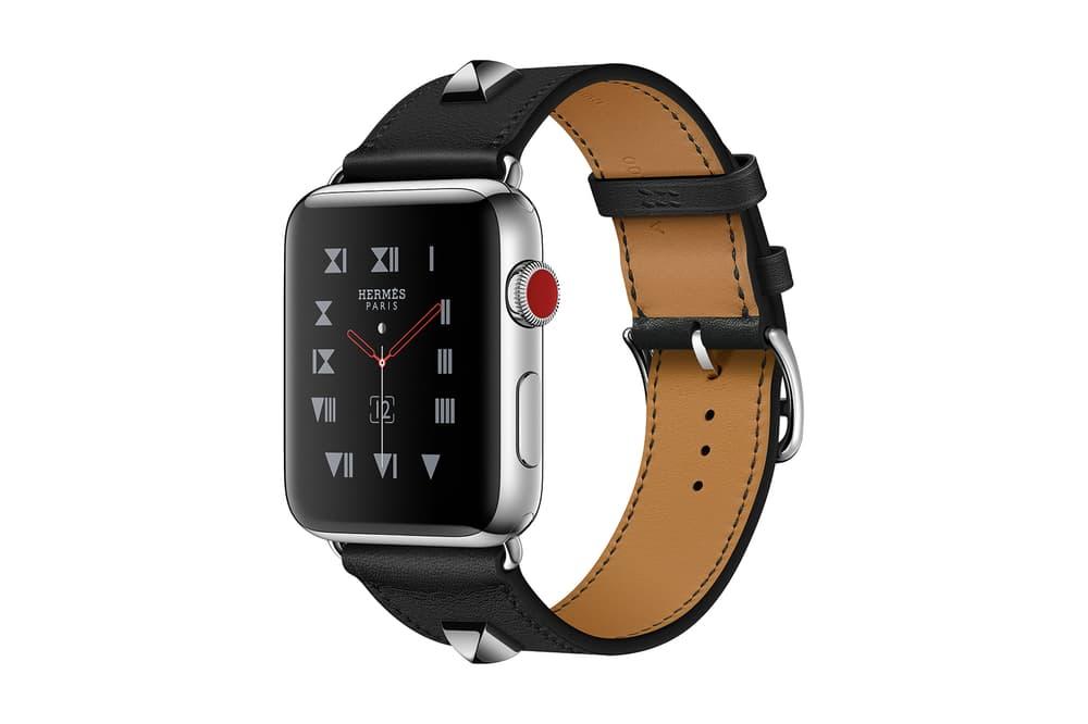 Apple Watch Series 3 Hermes Black Medor Edition Single Double Tour