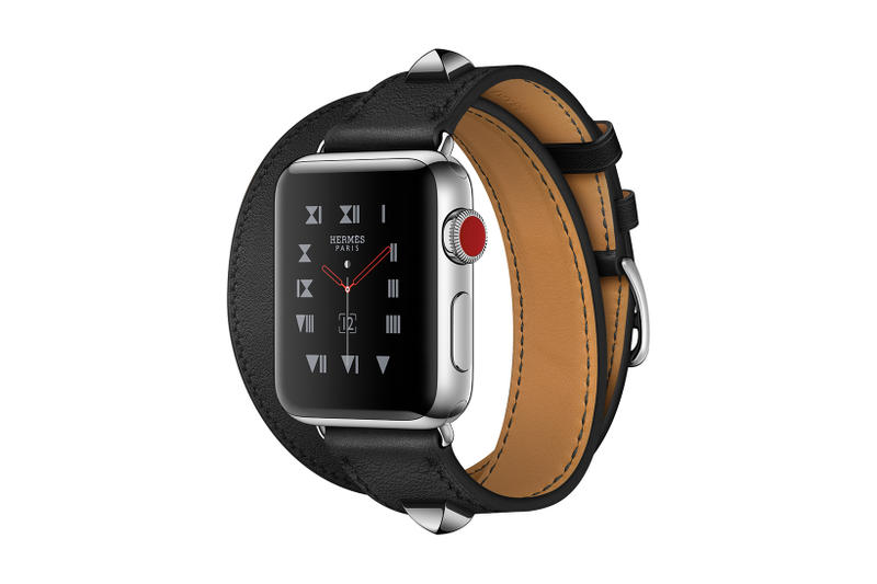 Apple Watch Series 3 Hermes Black Medor Edition Single Double Tour