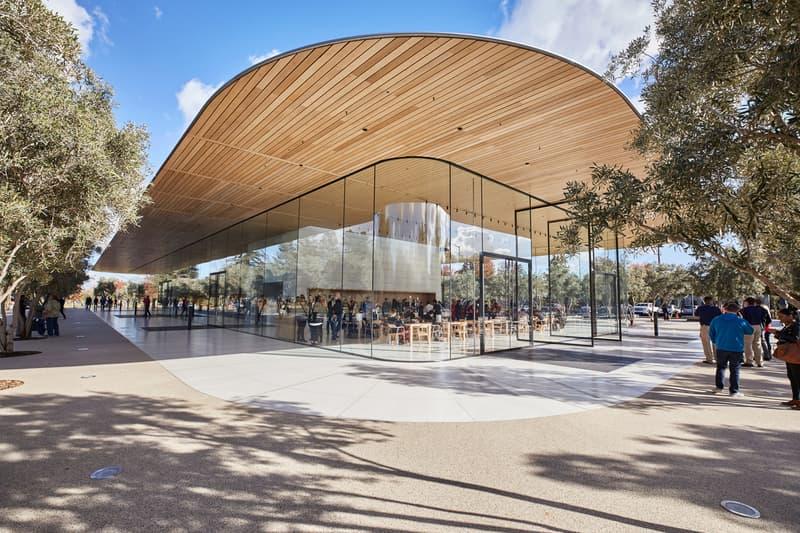 Apple Park Visitor Center Open Public 2017 November Cupertino California