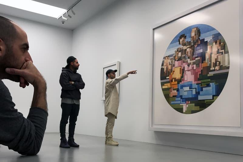 Daniel Arsham Ronnie Fieg Gallery KITH Soho Adam Lister Configuration Art Display Exhibit