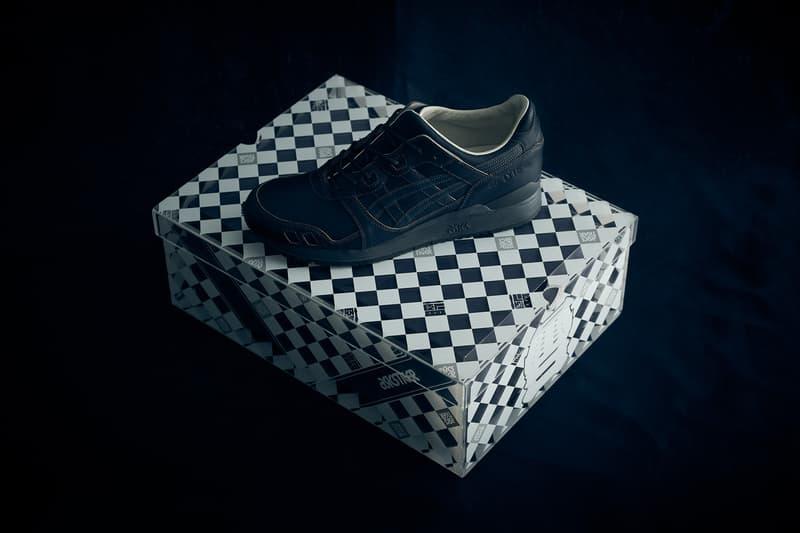 ASICS TIGER Made in Japan GEL Lyte III Indigo handmade 2017 December 9 Dark Light Shoe Sneaker Release Date Drop Info blue dye