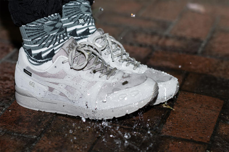 atmos ASICS GEL Lyte GORE TEX GTX 2017 November 25 Release Date Info Sneakers Shoes Footwear Grey