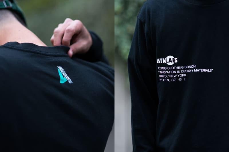 atmos LAB Nike Zoom Vapor RF x AJ3 Elephant Capsule Shoe Laces T Shirts Clear Jade 2017 November Release Date Info Elephant Print Longsleeve T-shirt Short Sleeve KIXSIX
