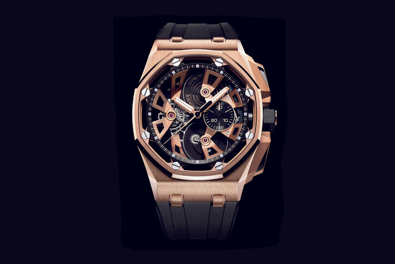 Audemars Piguet Royal Oak Offshore Chronograph 25th Anniversary Tourbillons Watch