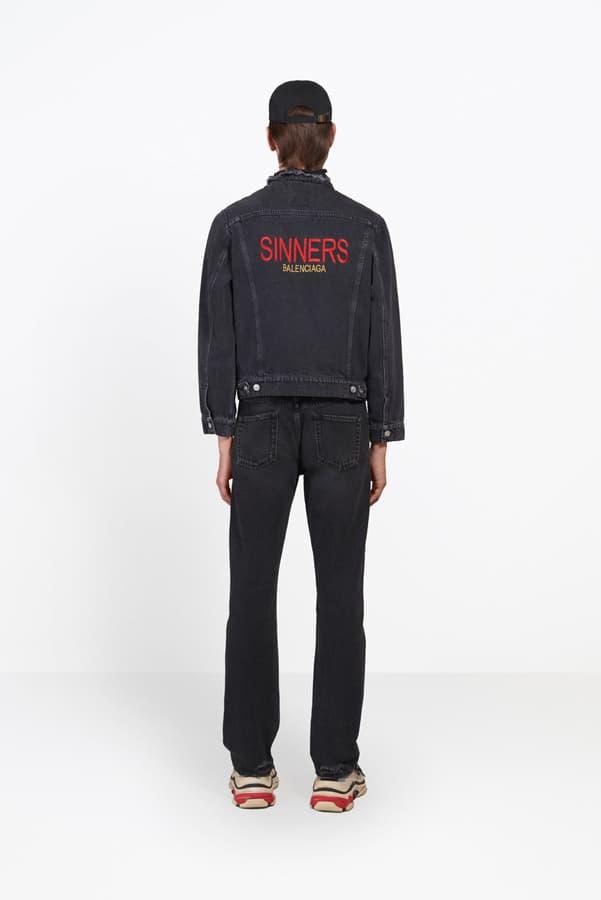 Balenciaga Sinners Capsule Collection
