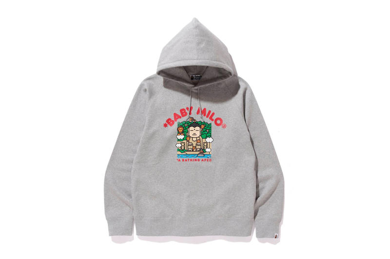 BAPE 7th Chinese Anniversary Collection Shark Hoodie Baby Milo