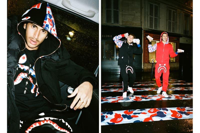 BAPE A Bathing Ape Paris Store Exclusive Collection Lookbok