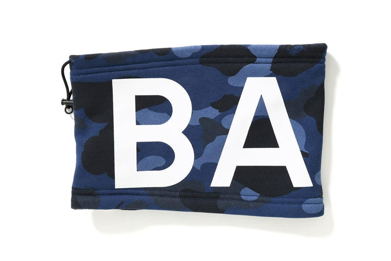 BAPE COLOR CAMO Neck Warmers Fall Winter Accessories Fashion Streetwear