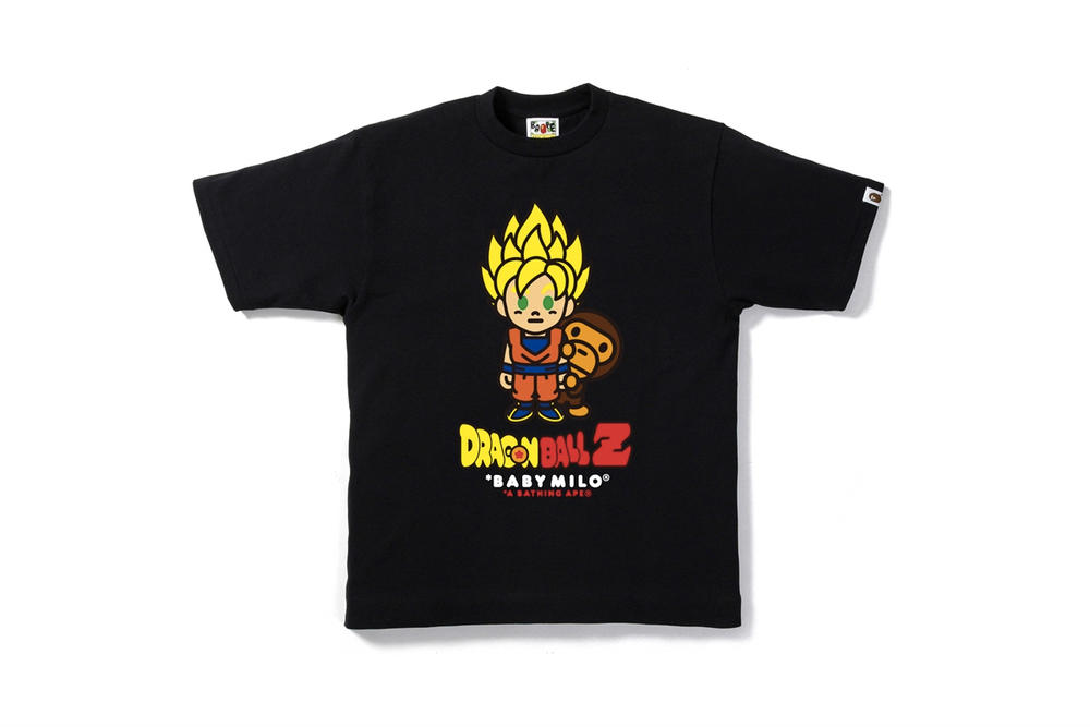 BAPE Bathing Ape Dragon Ball Z DBZ Capsule Collaboration Goku Milo