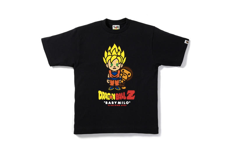BAPE Bathing Ape Dragon Ball Z DBZ Capsule Collaboration Goku Milo