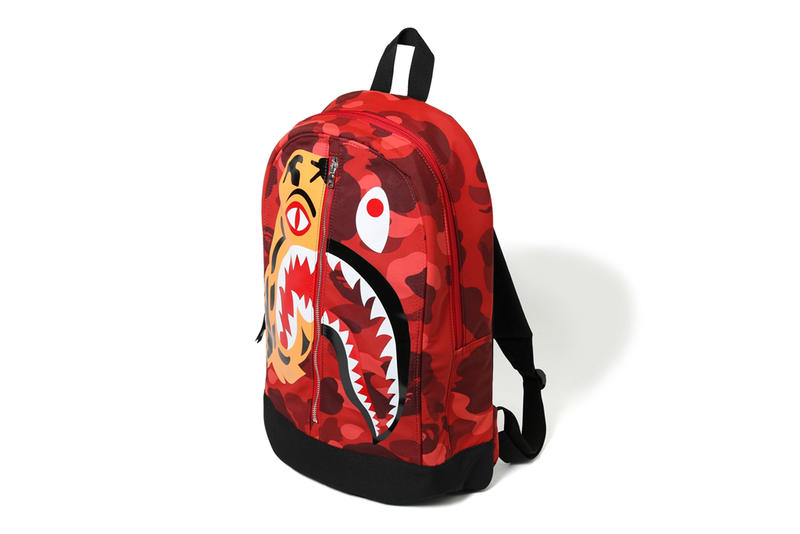 Bape Shark Backpack >> Bape 2017 Fall Winter Tiger Shark Collection Hypebeast