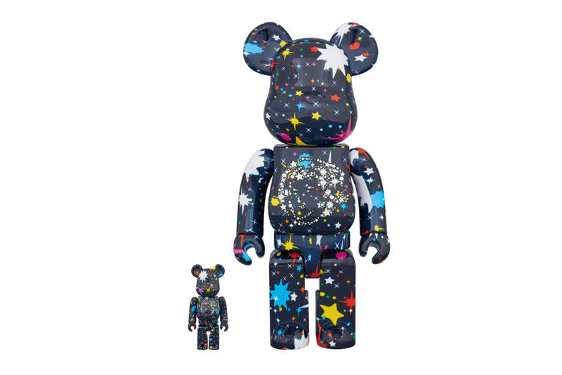 Billionaire Boys Club Medicom Toy BEARBRICK STARFIELD 2017 November 16 Japan BBC 100% 400%