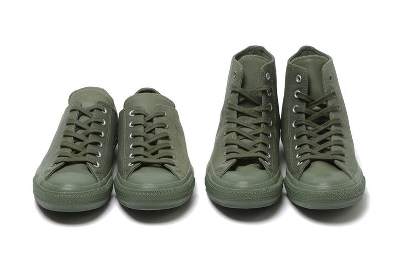 Beams Plus Engineered Garments Converse Chuck Taylor All Star Pack 2017 November Release Date Info Sneakers Shoes Footwear Collaboration mismatched suede leather japan Nepenthes