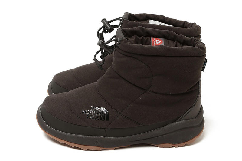 BEAMS The North Face Fall Winter 2017 Nuptse Boot bootie Blue Navy Tan beige charcoal Brown December 3 Release Date Info