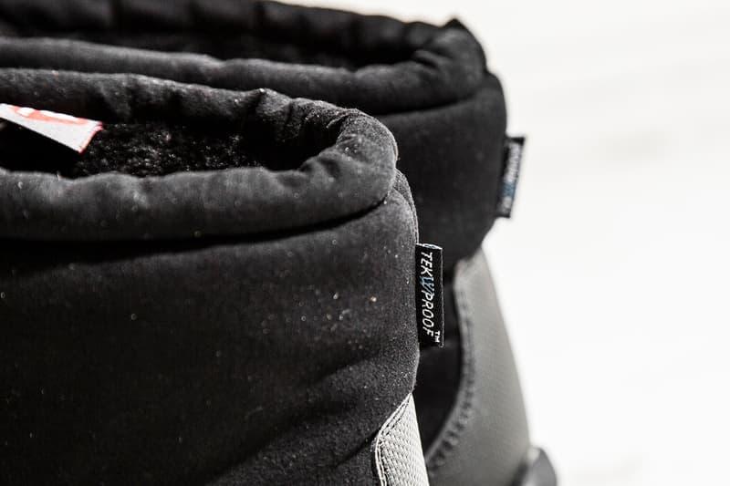 23b9b758e The North Face Nuptse Bootie & Mule In All Black | HYPEBEAST