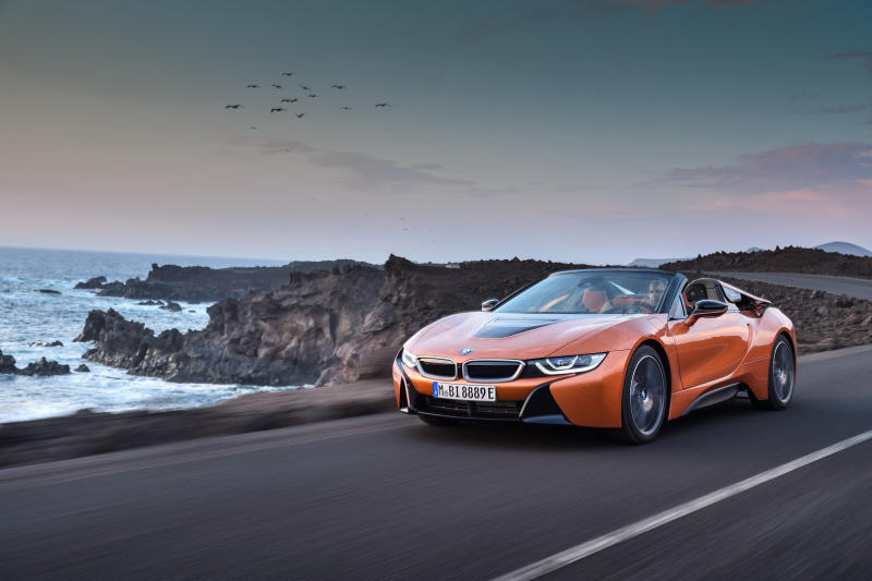 BMW Introduces the Drop Top i8 Roadster