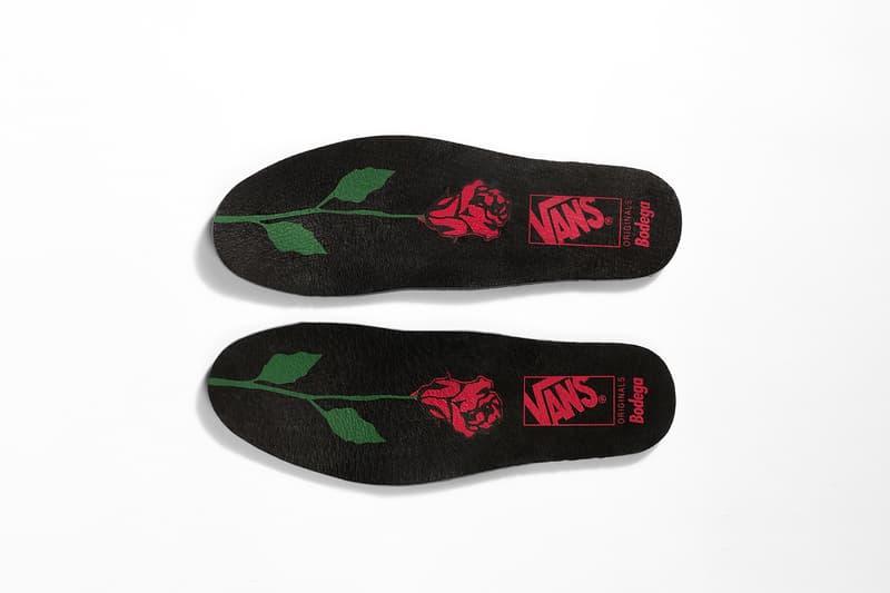 Bodega Vans Vault Sub Rosa Pack Mid Skool Old Black White Roses 2017 November 4 Release Date Info Sneakers Shoes Footwear