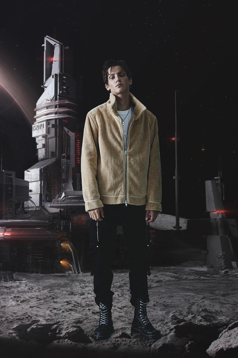 C2H4 Los Angeles Clothing Apparel Fashion Outerwear Accessories streetwear Amber Park space spaceship chemical weapon laboratory parkas
