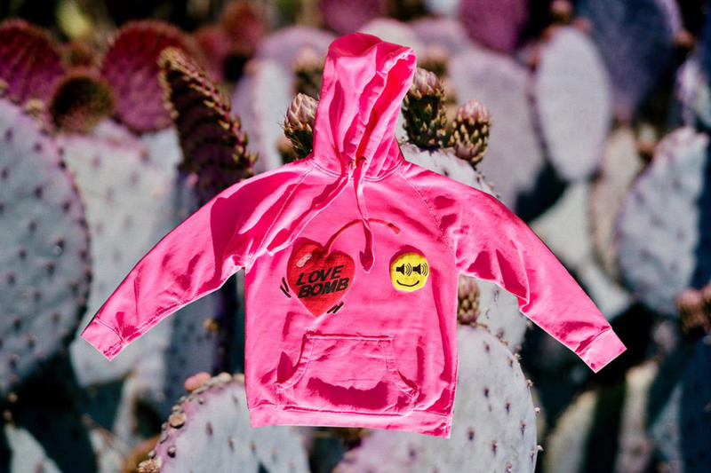 Cactus Plant Flea Market NERD Love Bomb Hoodie Pharrell Williams Seeing Sounds November 2017 Release