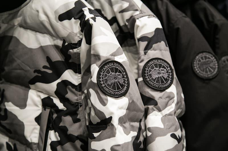 Canada Goose London Regent Street Flagship Black Label Peacekeeper Parka
