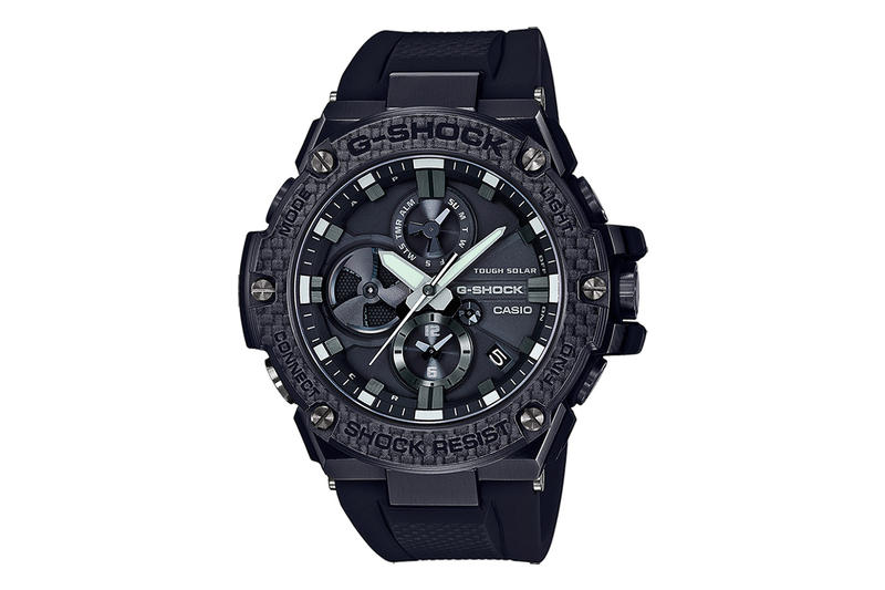 Casio G-Steel Layered Carbon Bezel GSTV100X-1A