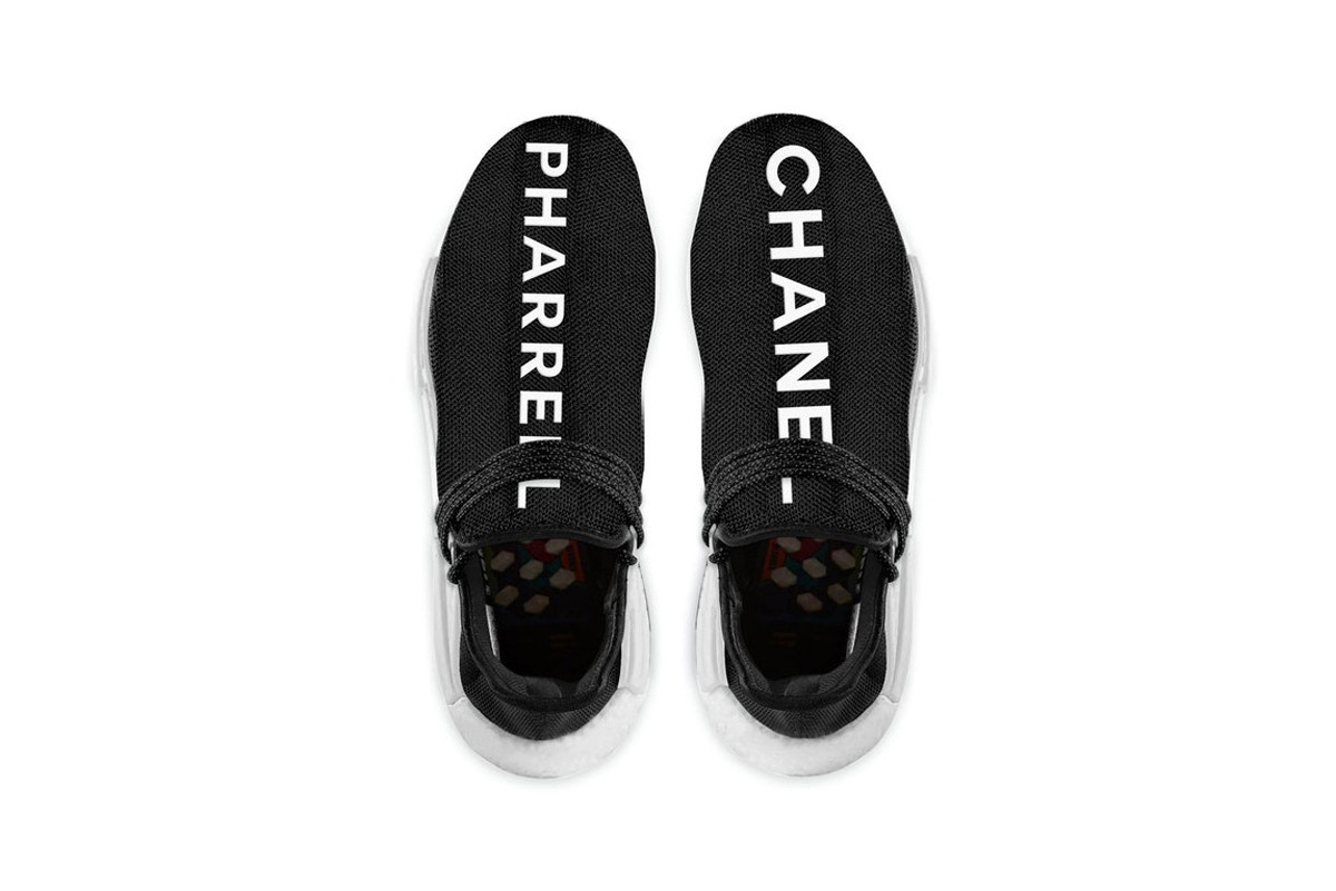 Chanel x adidas Pharrell Hu NMD colette