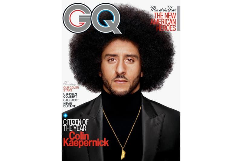 Colin Kaepernick 2017 GQ Citizen of the Year Calvin Klein Underwear Alexander Wang Fear of God Harlem Editorial
