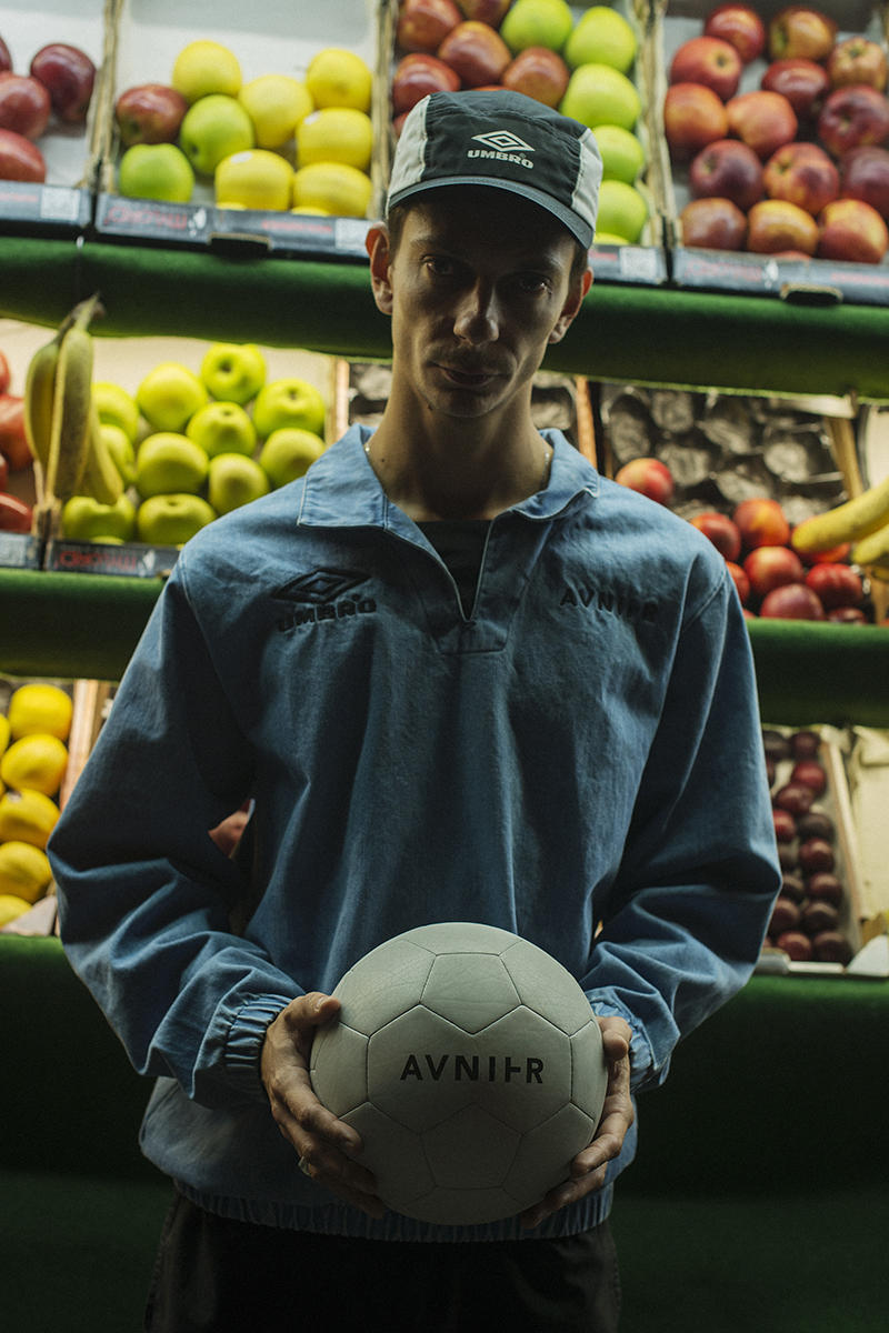 AVNIER France Umber Capsule Collaboration Collection Sportswear Football Soccer