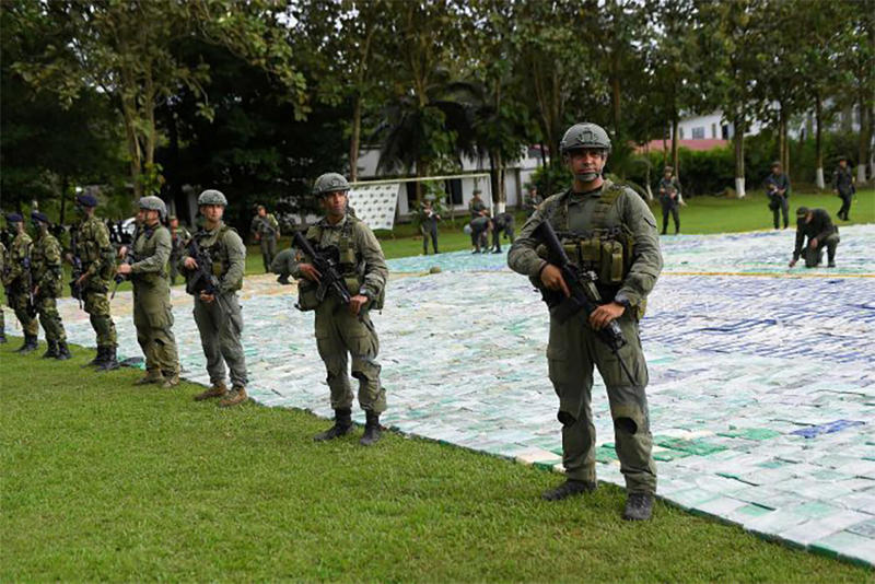 Colombia Cocaine Bust 12 Tons Largest Ever Seizure 360 Million USD Gulf Clan