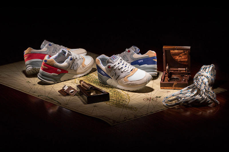 Concepts New Balance 999 Hyannis Restock Kennedy Red 2017 November 16 Release Date Info Sneakers Shoes Footwear re-release Nautical Flag