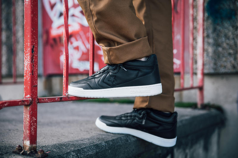 Converse Fastbreak Mid Zip Fall Lookbook